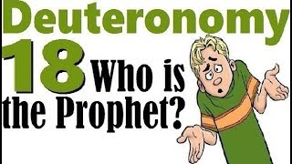 Video: In Deuteronomy 18:18, the prophet to come was Joshua (Judaism),  Jesus (Christianity) or Muhammad (Islam) - Michael Skobac