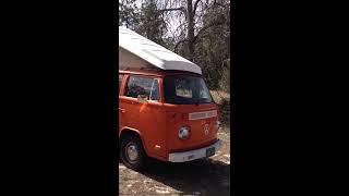 1973 VW Microbus 1600cc engine Westfalia Camper Pop Top