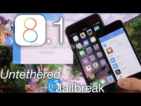 NEW Jailbreak 8.1 Untethered Pangu iOS 8.1 iPhone 6 Plus 5S,5C 4S,iPod Touch 5 & iPad Mini 3 Air 2,4