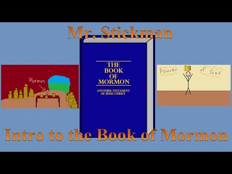 Mr. Stickman - The Book of Mormon: Title Page and Intro