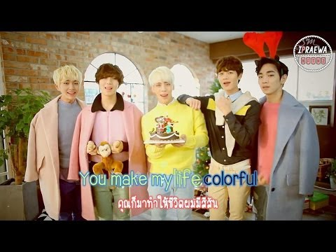 [Karaoke-Thaisub] SHINee - Colorful by ipraewaBFTH