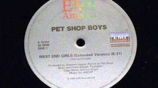 West End Girls Extended Version Pet Shop Boys