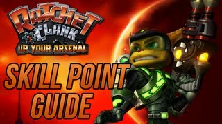 Ratchet and Clank 3: Up Your Arsenal - Skill Point Guide