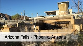 Arizona Falls is a remarkable roadside attraction in Phoenix