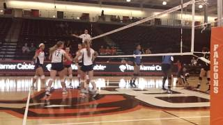 Post-Match Interview and Highlights from #UDVB's 3-0 Win Over Middle Tennessee