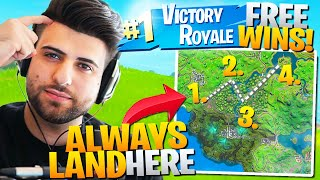 Why YOU Should ALWAYS Land HERE For FREE Wins in Chapter 2! (Fortnite Educational Commentary)