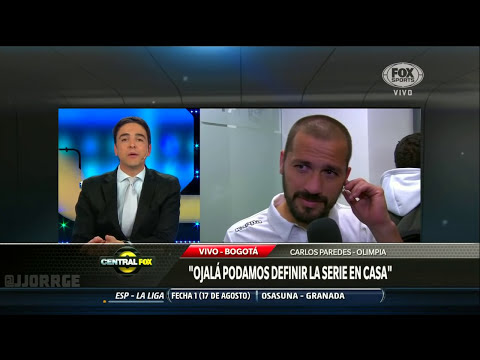 [HD] La Intimidad del vestuario de Olimpia post partido vs. Santa Fe. Central Fox