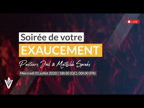 LIVE - Soirée de votre exaucement! |  Mercredi 1er juillet 2020 - 18h30 (QC) / 00h30 (FR)