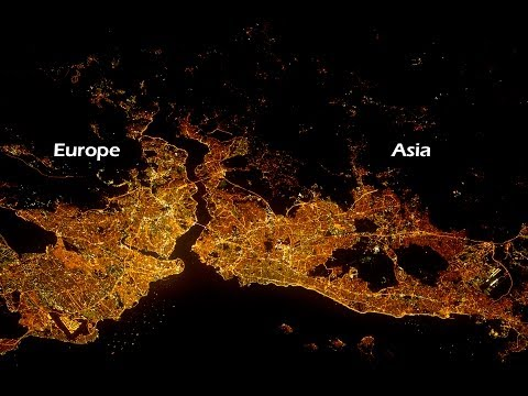 Top 50 City Lights Seen From Space