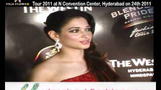 Actress Tamanna Speech in  Blenders Pride Fashion Tour 2011