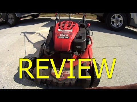 HONEST REVIEW - Troy Bilt TB360 Lawn Mower - OVER 400 LAWN CARE SERVICES