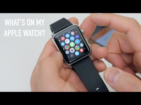 What's on my Apple Watch? (Best Apps 2015)