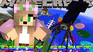 Minecraft CRAZY CRAFT - GETTING BIG BERTHAT SUPPLIES w/Little Kelly!