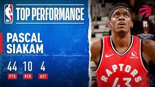 Pascal Siakam GOES OFF