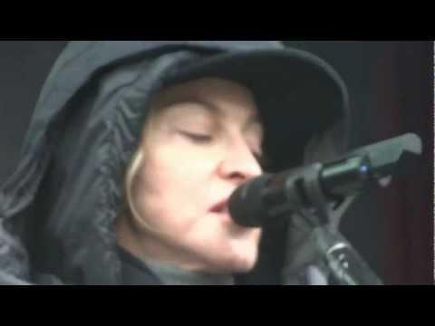 MADONNA TURN UP THE RADIO REHERSAL MDNA TOUR SANTIAGO 19/12/2012