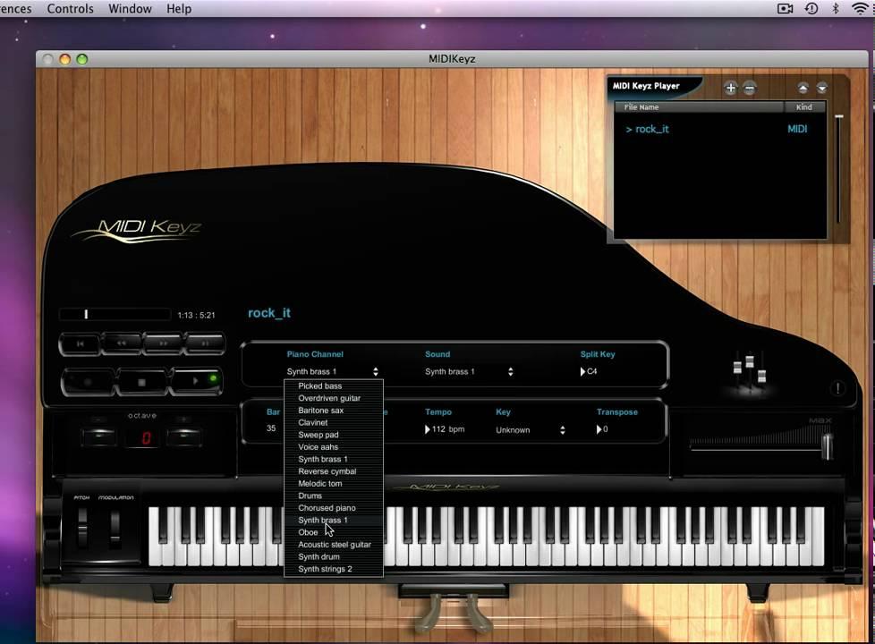 Midi piano files - 44d
