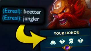 They said better jungle wins... bet they weren't expecting me to do THIS!