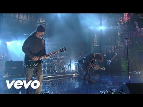 Soundgarden - Incessant Mace (Live @ Letterman, 2012)