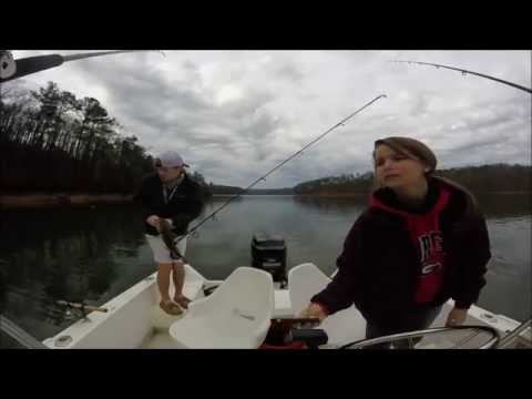 Lake Allatoona Spring Bass Fishing