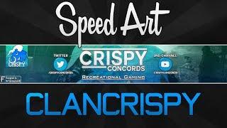Speed Art - ClanCrispy's Channel Art (@CrispyConcords)