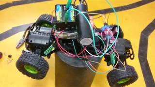RC Car with Raspberry Pi and HBridge - XBOX Controller Remote Control Test