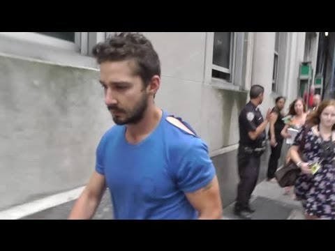 Shia LaBeouf Arrested After Making A Scene At A Theatre Production