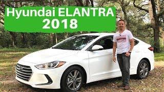 Hyundai Elantra 2018 Prueba de manejo, defectos y virtudes