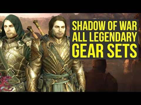 Shadow of War Best Armor ALL LEGENDARY SETS (Shadow of War armor - Shadow of War Legendary Sets)