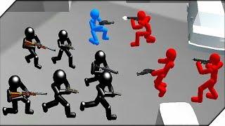 ШТУРМОВИКИ СТИКМЕНЫ - Игра Battle Simulator : Counter Stickman #3 Игры на телефон