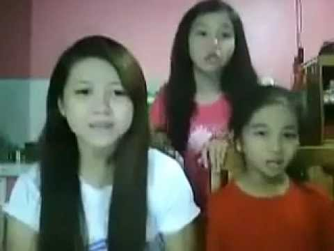 Oppa Gangnam Style Three Sisters Filipino Version video