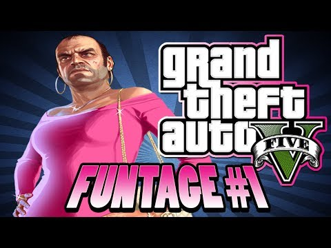 Gta 5 Online Funtage - Tear Gas Trolling, Donkey Laughing And Funny Bifta Races video