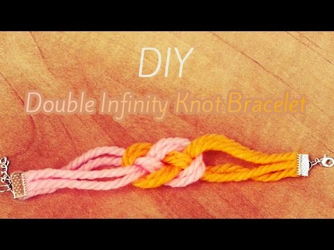 Diy Double Infinity Knot