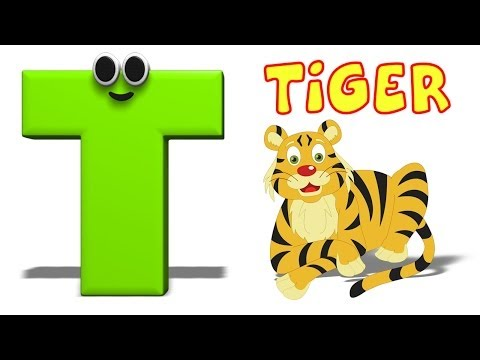 Phonics Letter- T song Kids Tv Nursery Rhymes S01EP185