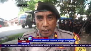 Aparat Lakukan Mediasi dan Pengamanan Cegah Bentrok Susulan di Ambon - NET12