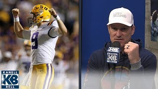 Danny Kanell: LSU moved up too high in the AP Poll | Kanell & Bell