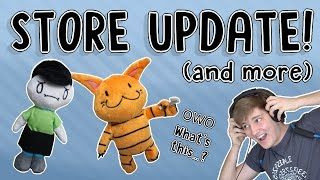 Store Update/Try Not to Sing/Playing a Video Game About Me (and more)