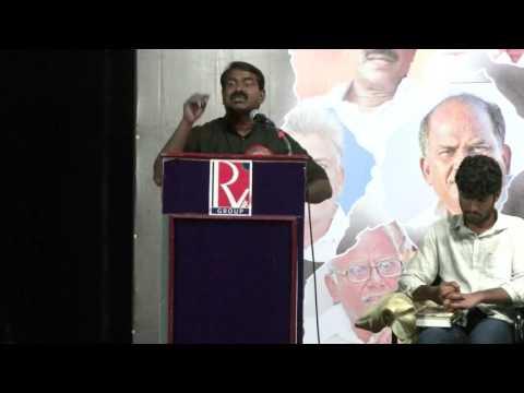 Naam Tamilar Seeman's Inspiring Speech After the Tamil Nadu Election 2016 Must Watch