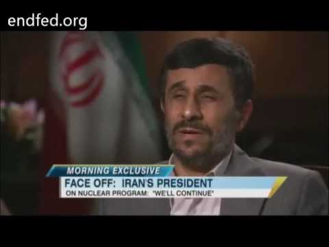 Ahmadinejad schools George Stephanopoulos on Osama Bin Laden/Foreign Policy