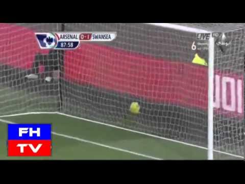 Arsenal Vs Swansea (0-2) II Full Highlights