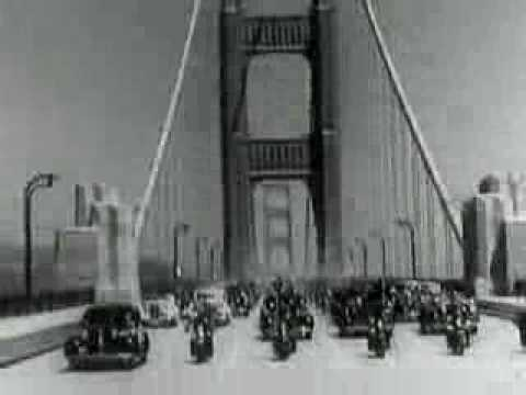 Opening Day of the Golden Gate Bridge Video