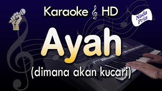 Download lagu Karaoke AYAH | Nada Pria - Rinto Harahap - Lirik Tanpa Vokal