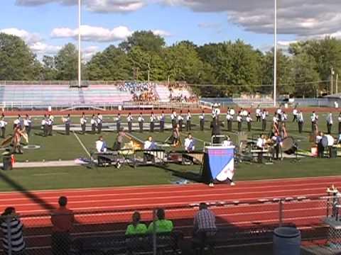 Silver Creek High School 9-8-2012 Columbus North Marching Band Invitational