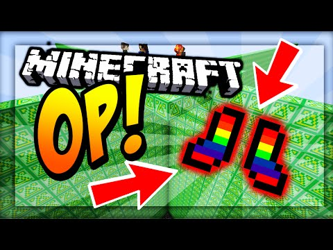 MOST OVERPOWERED BOOTS IN MINECRAFT! - Delta LUCKY BLOCK WALLS
