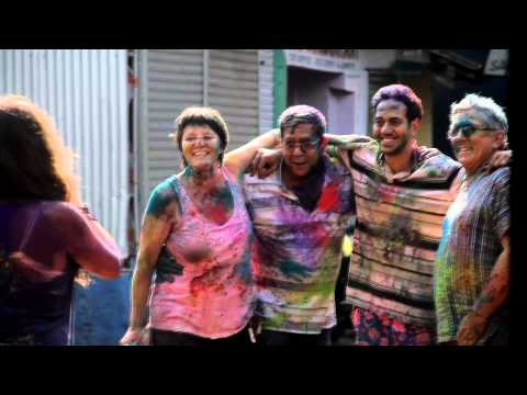 Holi - Festival of Colors in India, Goa (HillTop club and Chapora) /Holi - Festival