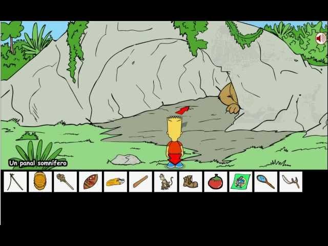 Bart Simpson Island Escape - Solución (Completa)