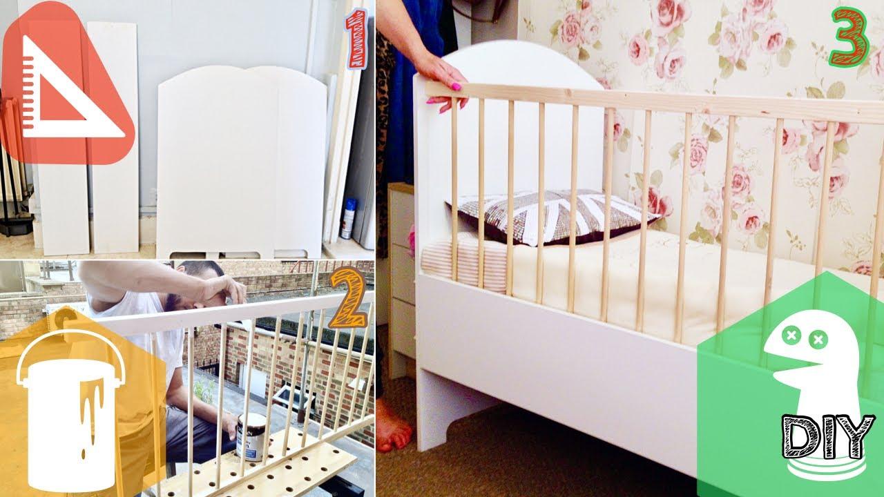 How To Make Baby Crib Youtube