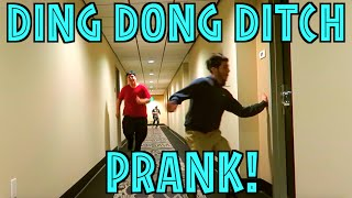 DING DONG DITCH PRANK! - PUBLIC PRANK - REACTIONS - SOCIAL EXPERIMENT