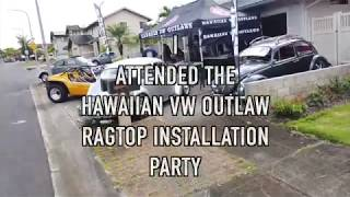 Ragtop Party with Hawaiian VW Outlaws