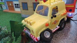 Fireman Sam Toys Episode 13 Tom 4x4 Car Crash Fire Phoenix Norman Sheep Woolly Toy 2018 Jupiter