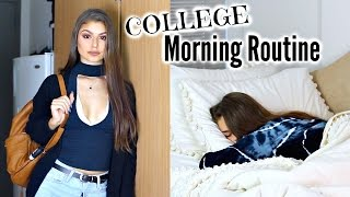 COLLEGE MORNING ROUTINE 2016 | Paige Secosky